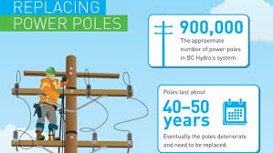 Bc Hydro Organization Chart Bc Hydro To Replace 10 000 Aging Power Poles This Year