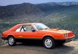 Tangerine Orange 1979 Ford Mustang Cobra Optioned Hatchback ...