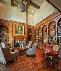classic home office. Classic Homes Home Office Traditional With High Back Armchairs Wooden Wall Unit Bookcases
