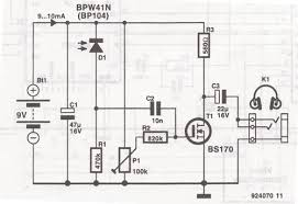 headphones infrared ir receiver circuit ir headphone receiver circuit diagram