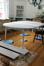 Painting Dining Room Mesmerizing Our Painted Dining Room Table The Wicker House
