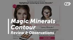 magic minerals contour by jerome alexander reviews is it a scam or legit