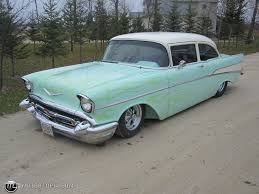 Improving on Perfection? Alternate History '57 Chevy Black Widow ...