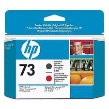 Out Of Date <b>HP 73</b> Matte Black & <b>Chromatic</b> Red Printhead