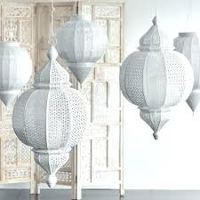 moroccan chandeliers lighting fixtures white metal finial hanging lantern cost plus world market crystal bolt icon