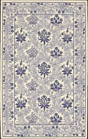nourison country heritage h 664 ivory blue area rug