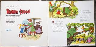 walt disney ions story and songs from robin hood lp 3810 excellent 1973 1859680783