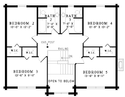 collection 5 bedroom cottage house plans photos home