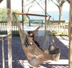 hammock hanging chair air deluxe outdoor chair solid wood 250lb fireplace hammock chair