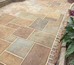 natural stone patio garden slabs