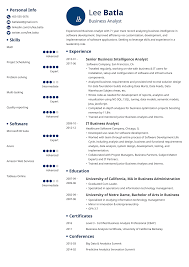 Amazon Resume Tips Business Analyst Resume Sample Guide 20 Examples