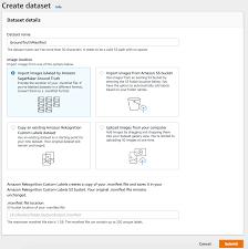 Creating a Manifest File - Rekognition