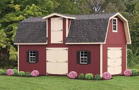 two story gambrel sheds hinged