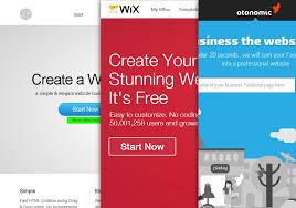 online free website creation 3 online free website builders to design a beautiful website