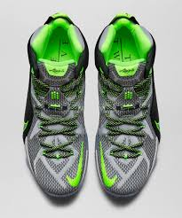 lebron james shoes 12 green. nike lebron 12 grey green lebron james shoes
