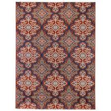 star moroccan red 7 ft 10 in x 9 ft 10 in