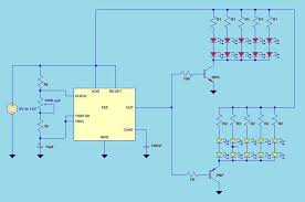 41 led flasher circuit using 555 ic 4 steps 12 Volt Flasher Circuit Diagram the difference is it has a potentiometer taken from electronician blogspot com 2010 11 led flasher circuit using 555 ic html 12 volt led flasher circuit diagram