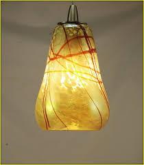 hand blown glass pendant light shades