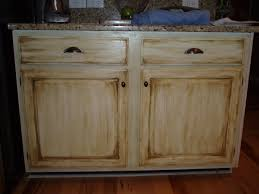 glazing cabinets before and after