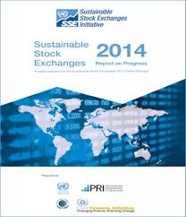 global dialogue sustainable stock exchanges click on the cover to review the 2014 sse report on progress prepared for the sse 2014 global dialogue document is best viewed in two page viewer setting
