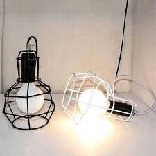 lampshade for hanging light vintage wrought iron cage pendant lights led metal cage lampshade lamp hanging