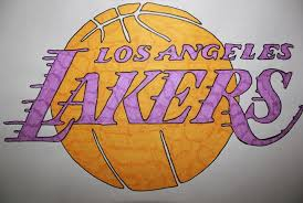 There is no psd format for los angeles lakers logo png images. Lakers Logo Sketching With Ginny Drawings Illustration Sports Hobbies Basketball Artpal