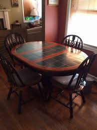 tile and wood top dining table portland or
