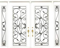 wrought iron glass doors wrought iron glass door inserts stained glass door inserts newmarket ontario in newmarket ontario canada