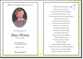 Funeral Remembrance Cards Cards For Funeral Thank You Card Template Samples Verses 4