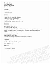 Musical Theatre Resume Template Lovely What Makes A Good Essay