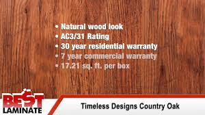 timeless designs country oak laminate flooring review