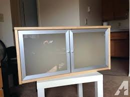 ikea glass door cabinet birch wall cabinet w frosted glass doors ikea hemnes glass door cabinet uk
