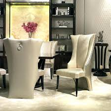 wingback dining room chairs dining room chairs inspiring high chair of back upholstered furniture wingback dining