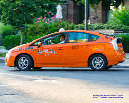 An Orange Cab Seattle Toyota Prius Hybrid Taxi... | PHOTO CR… | Flickr