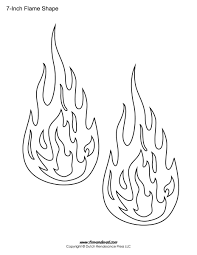 Flame outline printable flame stickers, flame templates, flame shapes on 3 7 8 inch printable template