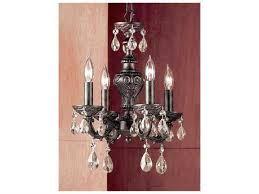classic lighting corporation gabrielle english bronze four light 12 wide mini chandelier