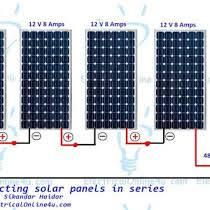 connecting solar panels in series wiring diagram & calculation Solar Power Installation Diagram connecting solar panels in series wiring diagram & calculation today i am writing about the solar panels and in this post i am writi solar power system diagram