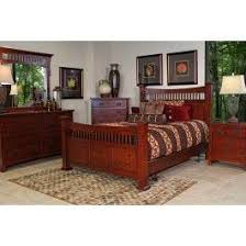 San Mateo Oak Mid Wall Cal King Bed with Pedestal - Mor Furniture ...