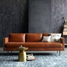 enticing axel leather sofa 89 west elm saddle leather sofa saddle soap