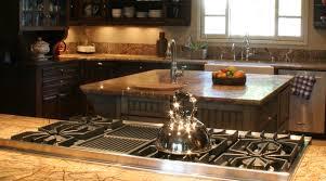 kitchen island close up. kitchen appliances, design, granite counters, under cabinet lighting, cabinets, island close up i