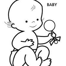Small Picture Baby Doll Coloring Pages AZ Coloring Pages Baby Coloring Pages In