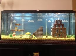 Fun Fish Tank Decorations Lego Theme Aquarium Diy Decor Pinterest Fish Tanks Aquarium