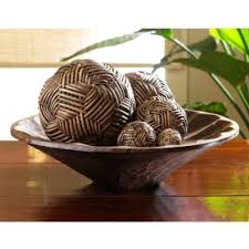 Decorative Bowls For Coffee Tables INSPIRATION Holiday Fill Any Decorative Bowl With Spheres To 41