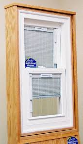 Blinds Inside The Glass Vinyl Window Company Supports Local Hockey Double Hung Windows With Blinds Between The Glass