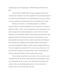 word essay on how i learned my lesson 5 computer and got to work titling the paper ldquoa 1000 word