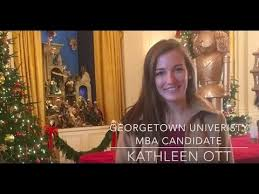 when can we start kathleen ott georgetown university mba video  kathleen ott georgetown university mba video essay