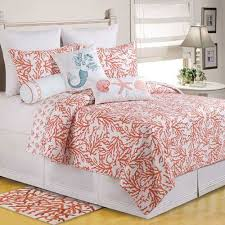 Best 25+ Coral bedspread ideas on Pinterest   Girls twin bedding ... & Coral bedspread! Adamdwight.com