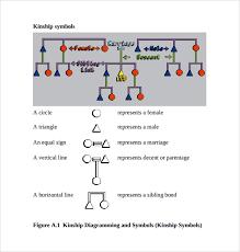 Kinship Chart Generator Online Sample Kinship Diagram Template 9 Free Documents In Pdf Word