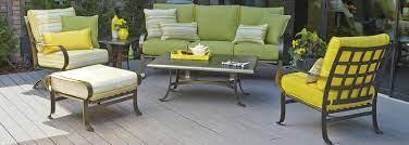 woodard cascade wrought iron outdoor