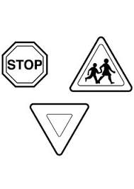 Small Picture Traffic Signs Coloring Pages Stop traffic sign coloring page